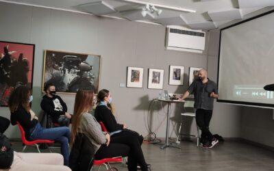 Diseño de vestuario, clase con Raúl Ramos